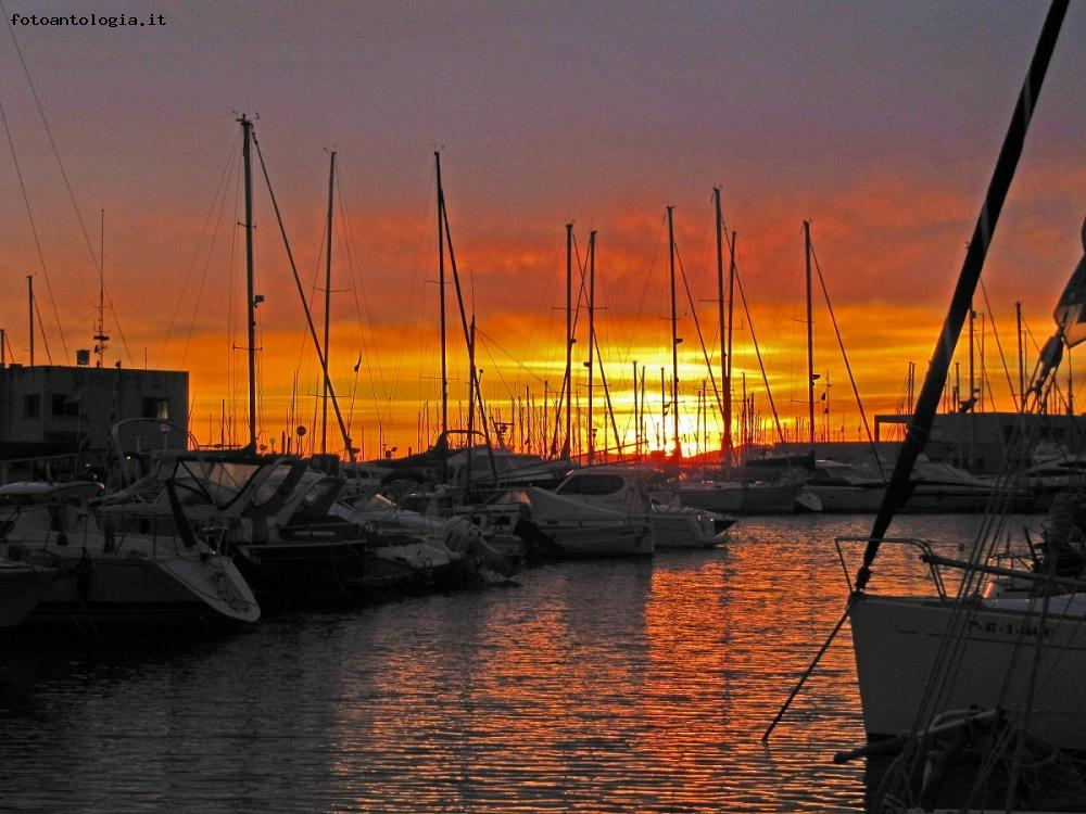 Port Olimpic...tramonto spagnolo