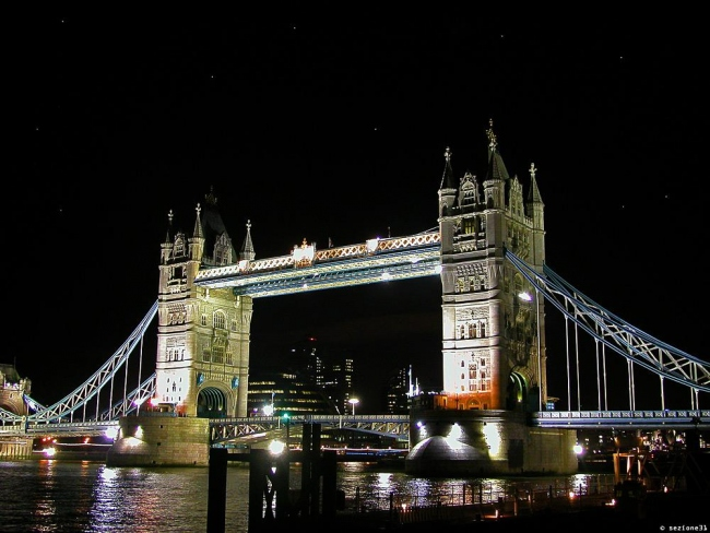 The Tower Bridge in the Night...