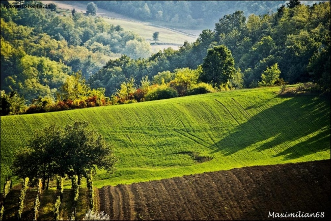 colline colorate
