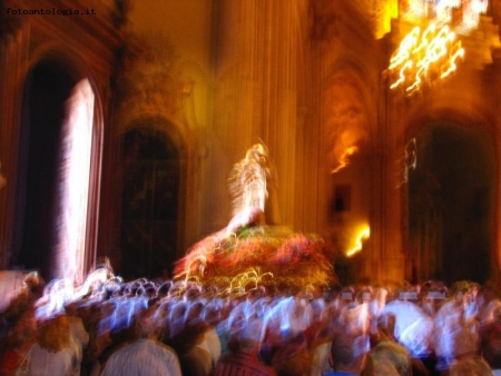 Spagna - Malaga - Slow synch in Catedral