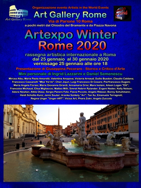 Artexpo Winter Rome 2020